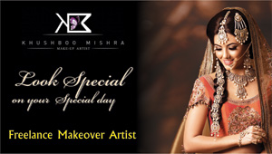 Make Up By Khushboo Mishra
